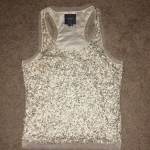 Gryphon sz s Embellished evening tank top